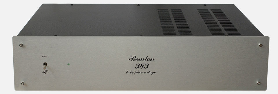 Remton 383 MK2 tube phono stage